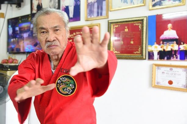 Võ sư Lý Huỳnh