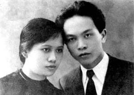 Đại tướng Võ Nguyên Giáp và người vợ đầu - liệt sĩ Nguyễn Thị Quang Thái vangsonmotthuo.com