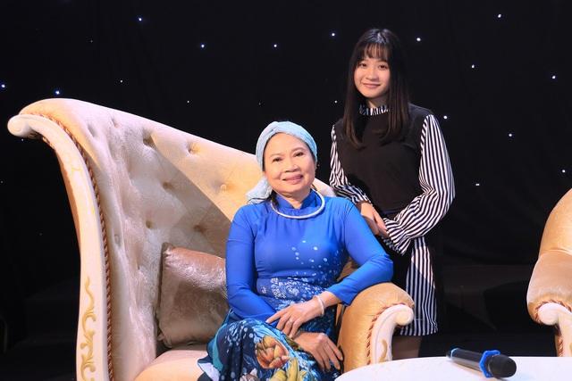 Bà Nguyễn Bính Hồng Cầu - con gái của cố nhà thơ Nguyễn Bính.