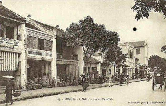 phố Hàng Gà Rue de Tien Tsin